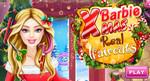 игра Готовим Барби к рождеству