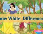 игра Белоснежка - найди отличия