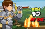 игра Бен 10 рыцарская битва