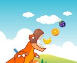 игра Накорми динозавра