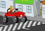 игра Лего: родео на машине