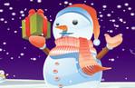 игра Лепить снеговика