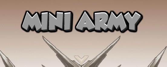 игра Мини Армия