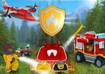игра Пожар в Лего сити