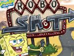 игра Губка Боб стреляет по роботам